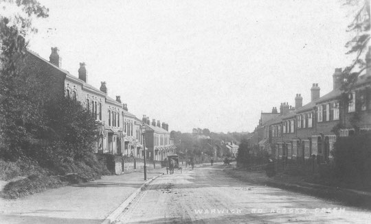 Houses on the hill down to Lincoln Road, c. 1905 (thanks to Peter White)