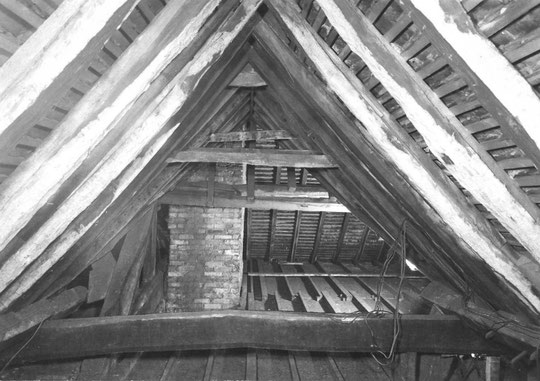 11. Roof looking into south west wing