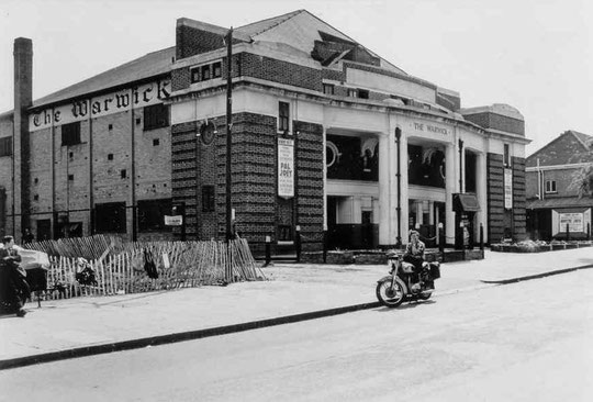 The Warwick cinema, 1958 (Birmingham Libraries)