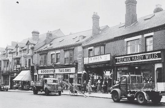 Warwick Road, 1953 (Birmingham Libraries)