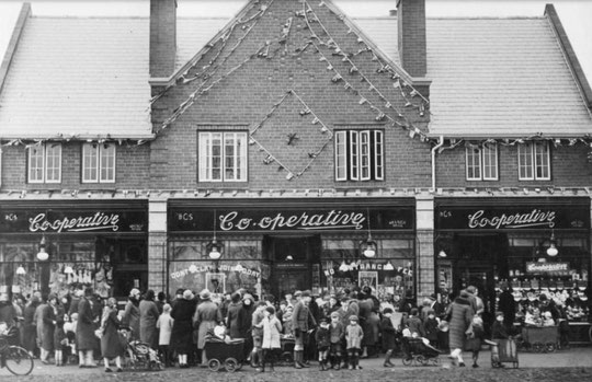The opening of the 100th Co-op Branch, November 1929 (AGHS)