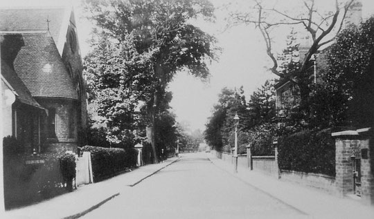 From a little further into Sherbourne Road, c. 1905