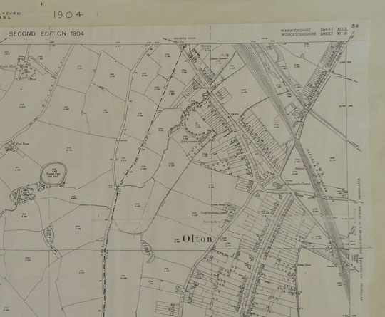 Acocks Green and Olton 1904b (Birmingham Libraries)