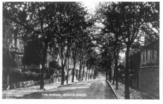 The Avenue, again early 20th century