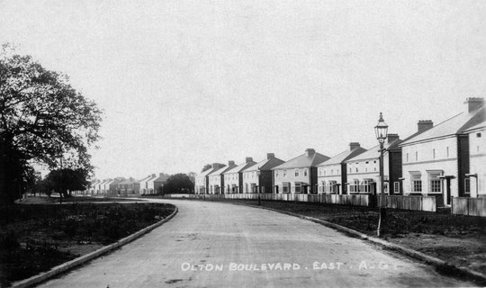 New council houses on Olton Boulevard East, early 1930s