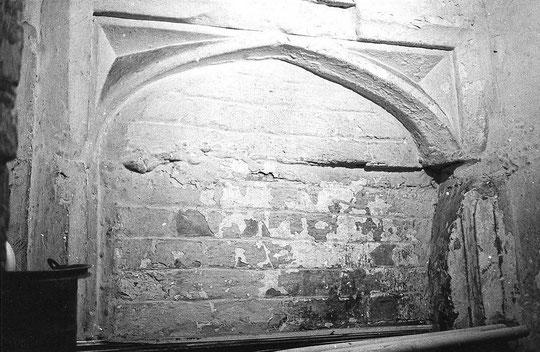 Turret stair doorway (K. Sprayson)