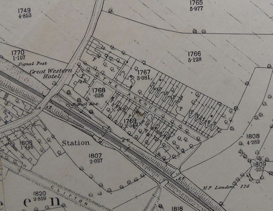 1888 O.S. map extract