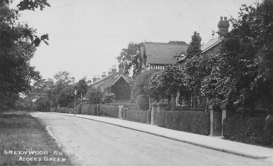 Greenwood Road c. 1905.