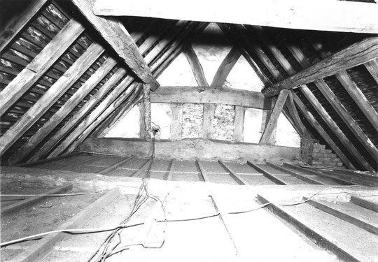 13. South east end truss, south west wing