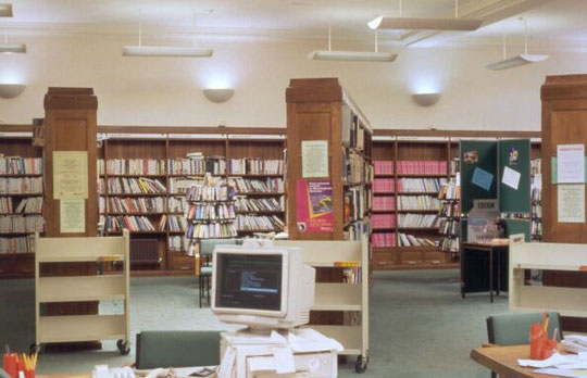 The Adult Library in 2005