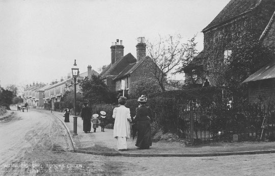 Warwick Road at Lincoln Road, c. 1905 (thanks to Peter White)