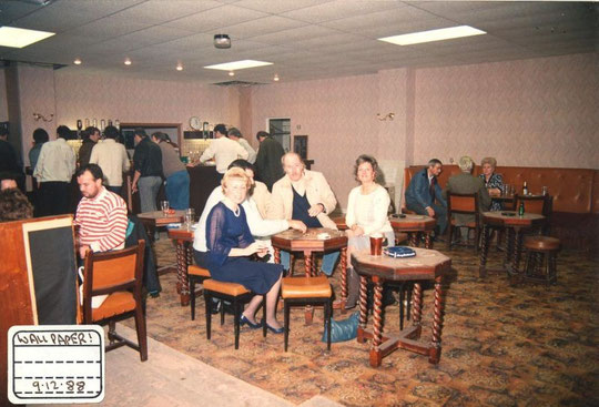 The new lounge, December 1988