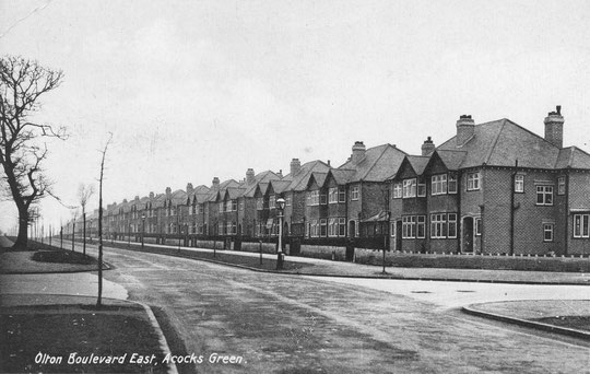 The Crabbe houses when new, c. 1932
