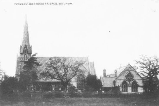 Tyseley Congregational church