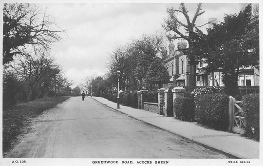 Greenwood Road, 1920s