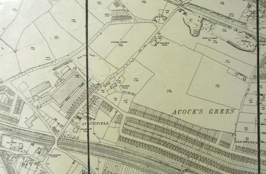 1916 Ordnance Survey