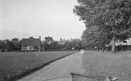The Recreation Ground with pavilion, 1954 (thanks to Peter White)
