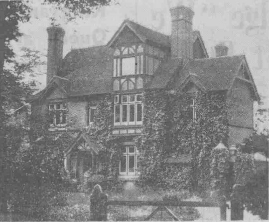 The Lady Mayoress House, 1939 (Birmingham Libraries)