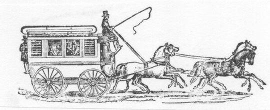 A stage-coach