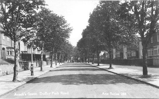 Dudley Park Road. c. 1925