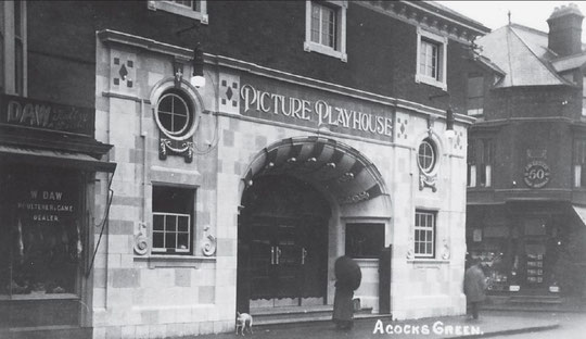The Picture Playhouse silent cinema, c. 1914 (thanks to the late Mary Smith)