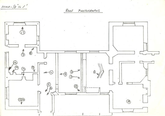 Location of roof photographs