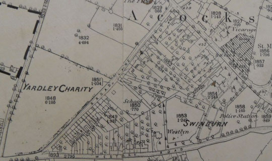 1888 25 inch O.S. map extract