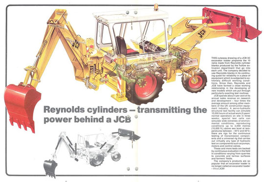 Reynolds' cylinders in the JCB (via K. Sprayson)
