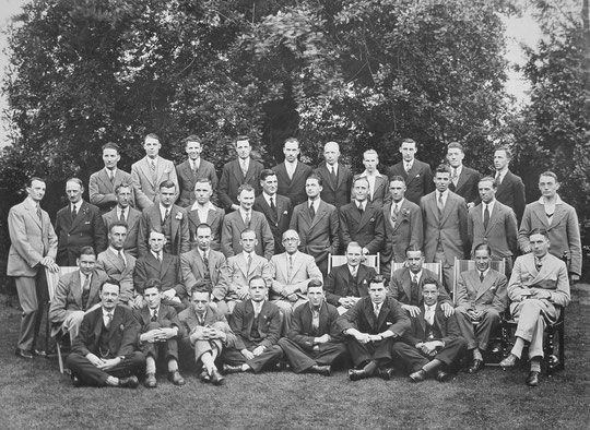 Gold's Old Boys, 1924 (Christine Jennings)
