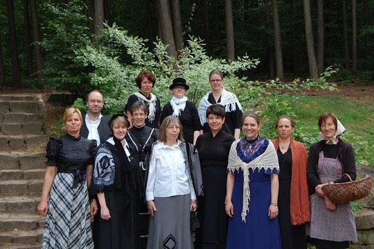 Lehrer der Maiburg-Grundschule vor 100 Jahren