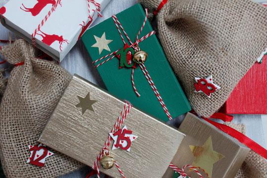 Wer ist schon in Weihnachtsstimmung? Die Vanessa auf jeden Fall ;-) Sie hat ein super schönes DIY für ein Adventskalender. Looove it!