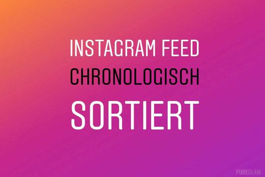 Über diese Änderung werden sich alle Instagram-Nutzer riesig freuen :-) Danke Pureglam für die Info!