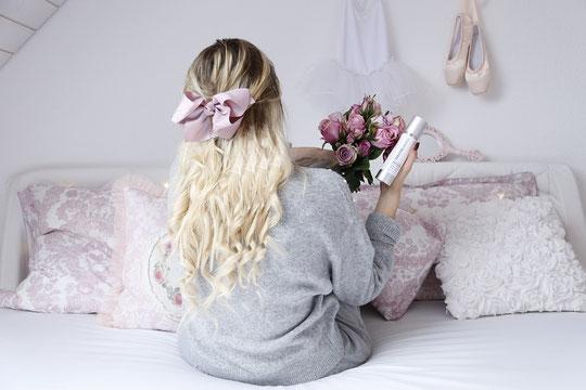 Die hübsche Tea schreibt darüber, wie man die Haare mit Keratin stärken kann.