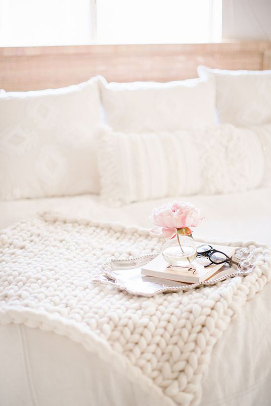 Wie man diese gehypten Decken selbst machen kann, Lauren Conrad erklärt dir wie ;-)