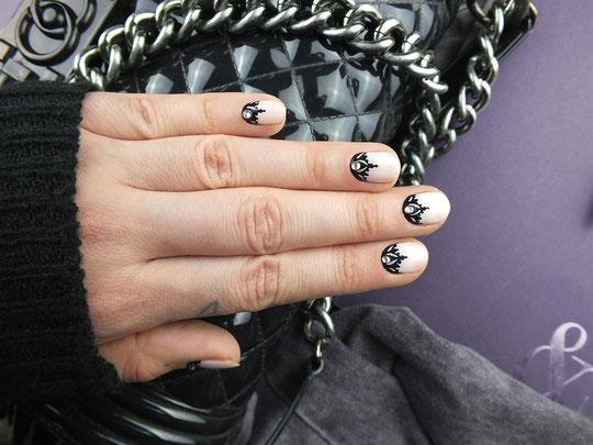 Ich hab wirklich wenig Zeit für meine Nägel. Aber ich finde diese Nail Art von Annesfashionlove so unglaublich toll, die muss ich mit euch teilen!