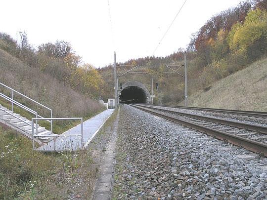 Burgbergtunnel Schnellfahrstrecke Mannheim-Stuttgart