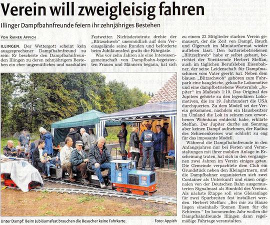 21.9.2011-Mühlacker Tagblatt