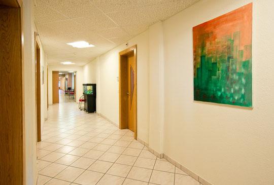 Le couloir de l'administration (© YL)