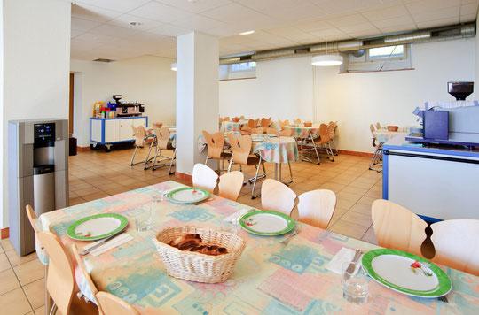La salle à manger des résidants (© YL)