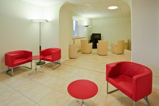 Le salon commun pour les résidants (© YL)