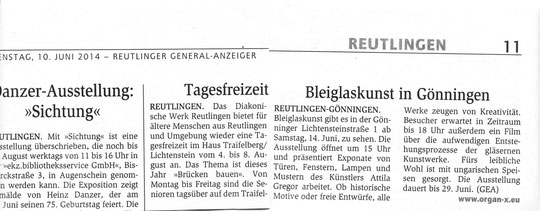 Presse | GEA, 10 Juni 2014