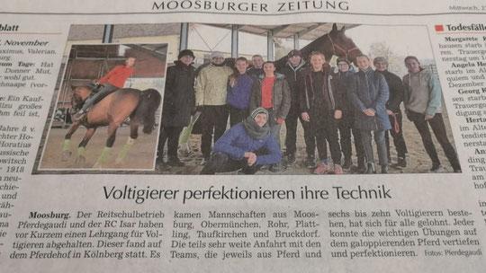 Moosburger Zeitung 27.11.2019