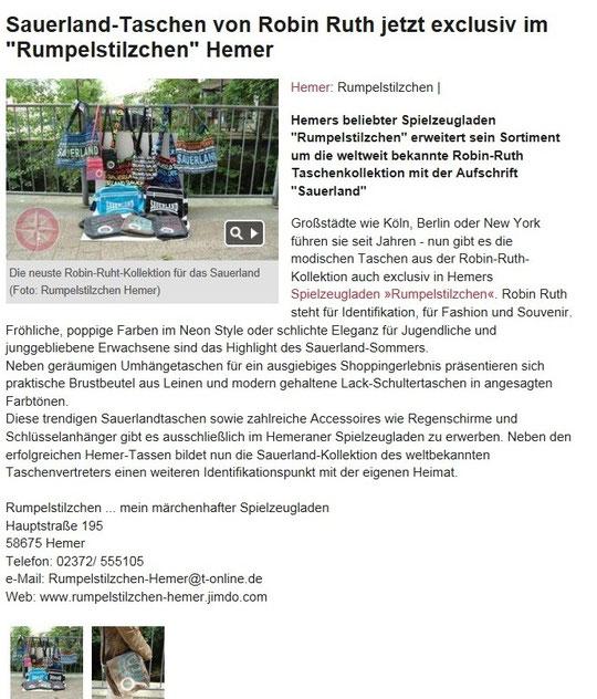 Robin Ruth Saarland Quelle: lokalkompass.de