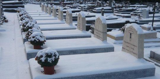 Corps restitués au cimetière de Coupvray