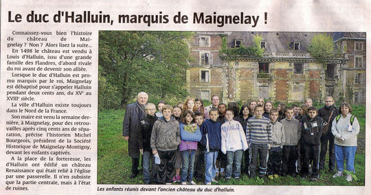 Le Courrier Picard, 15 octobre 2010