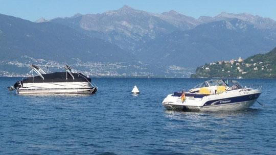 Lago Maggiore  Blick vom CP Campagna