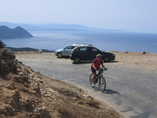 biken am Cap Corse