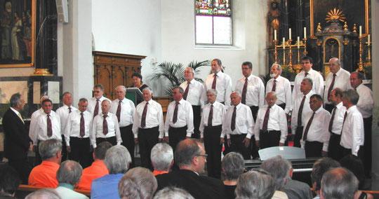 Der Chor wird angesagt