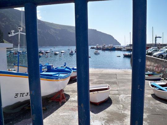 Am Hafen in Vueltas