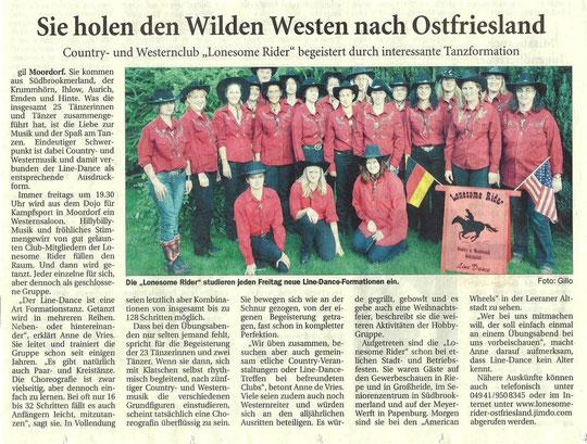 Ostfriesische Nachrichten 03.09.10